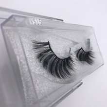 Free Samples! Handmade False Silk Mink Glamorous Lashes With Custom Packing