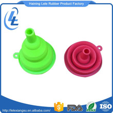 Custom colored food grade coffee collapsible round cone silicone filter