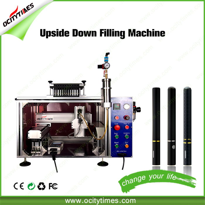 USA hot OCITYTIMES o1 thick cbd oil vaporizer cartridge filling machine upside down fill DS80 DS92 joint pen