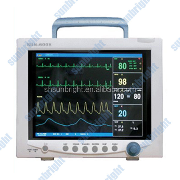 Multi Parameter/Modular/Vital Sign Patient Monitor Supplier With CE/ISO13485