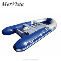 2017 High Quality PVC Inflatable rubber boats with motor outboard PVC boat aluminium floor for sale