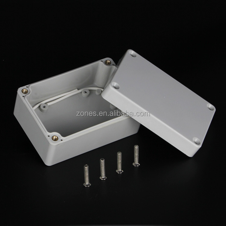 customized ip65 water proof electronic plastic enclosure housing ul94 electrical junction box price
