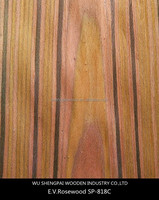 sliced recon rosewood timber wood face veneer for decorative door,flooring,furniture,home rosewood thin sheets
