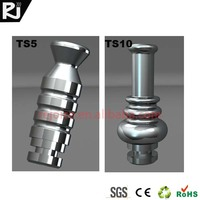 China ecigs TS1-10 pure stainless steel e-cigarette drip tip 510 tip