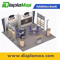 Aluminum material modular standard exhibition stand China modular exhibition booth customized booth design