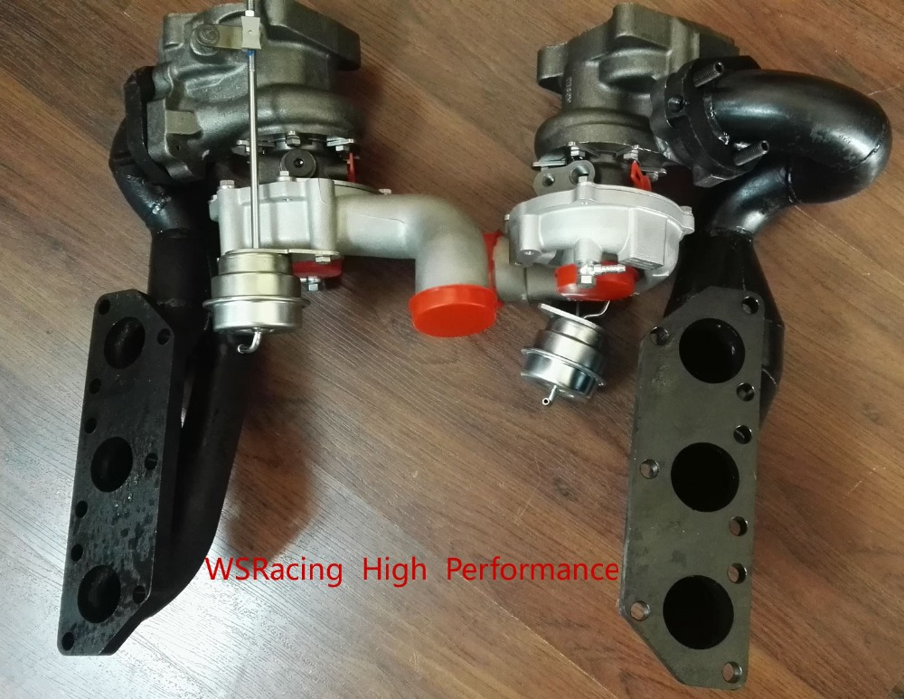 for audi 2.7L S4 RS4 k04 twin turbo and manifold