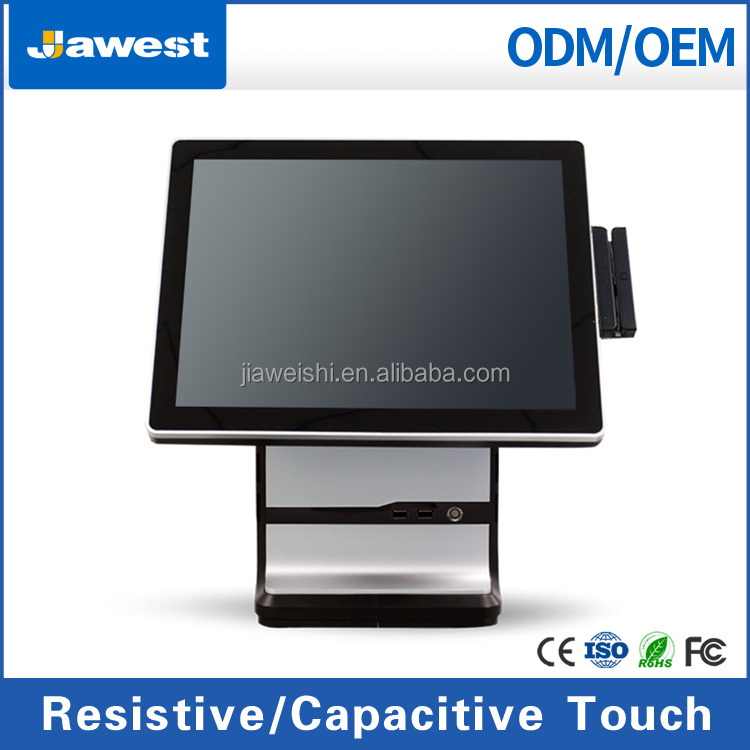 manufacturer stand touch screen spectra pos terminal for restaurant/retail pos software