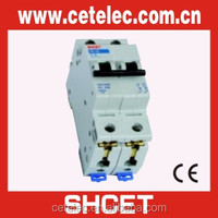 H6 63A 1P 2P 3P 4P 2 amp mcb electric mcb size