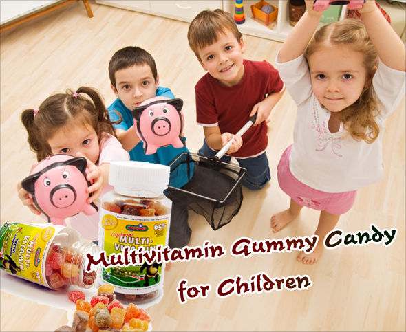 Multivitamin gummy candy for Children/ Vegetarian
