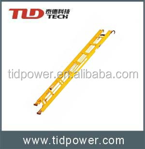2.7M Telescopic Straight Insulation Ladder with rope and hook