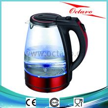 1.8L Red Kettle Electric Water Kettle OC-1302 Electrical Kettle With LED