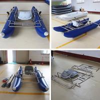 America market popular sale Customizable inflatable pontoons for pontoon fishing boat