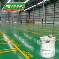 3TREES Anti-static Oil base epoxy parking lot floor paint (free sample)