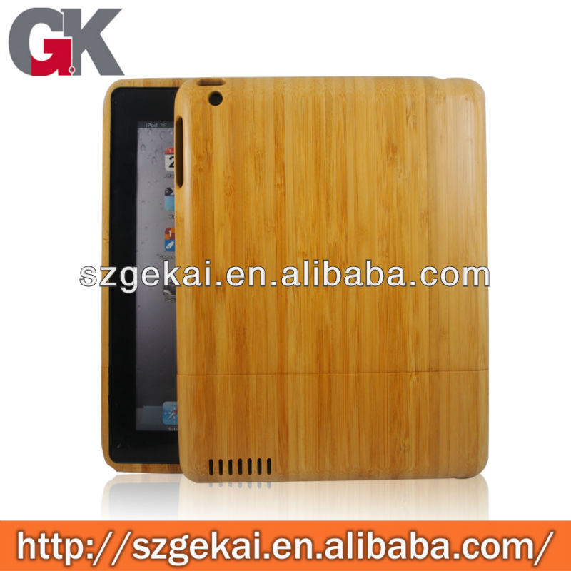 carbon fiber bamboo case for ipad34 for ipad mini