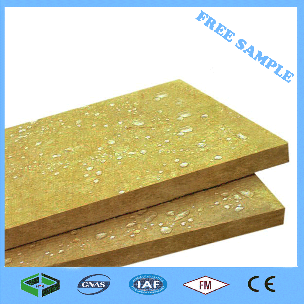 2016 China Supplier Thermal Insulation Panel Hydroponic Rock Wool Insulation Board/Rock Wool