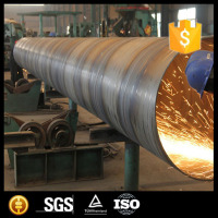 Carbon Steel Large Diameter SSAW Spiral Steel Pipes or Tubes in 30inch for Conduit and Oil Line