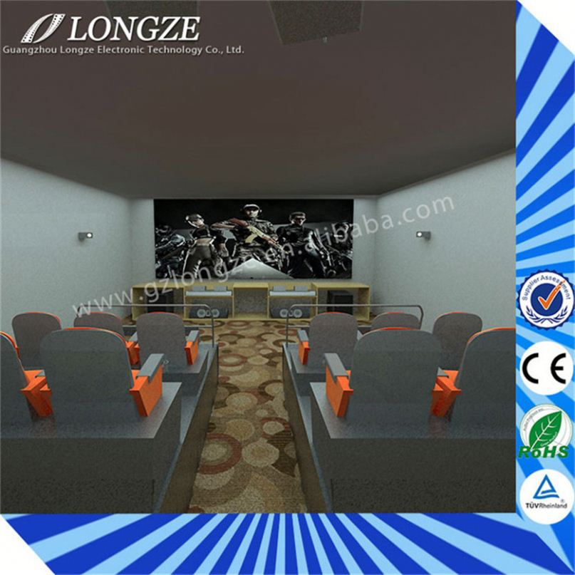 Most Attractive full hd Simulator immersive sense New Business idea 5d cinema chairs used video game