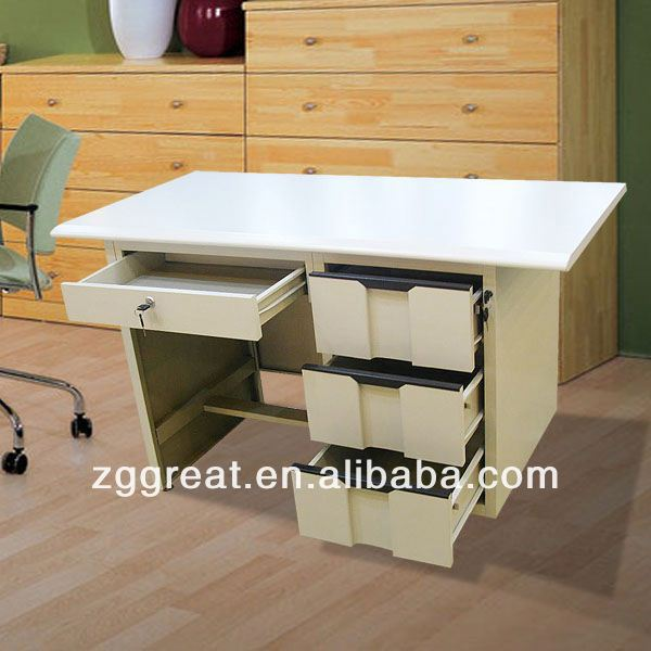 High Quality Modern office executive desk/Ergonomic office furniture/Melamine painted table