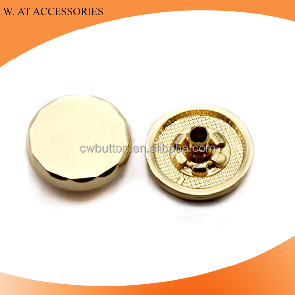 Gold snap button fashion metal button snaps