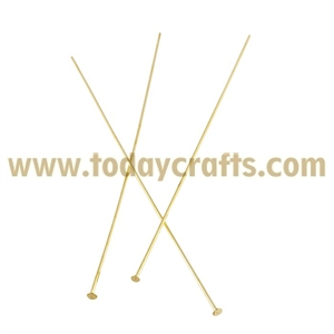 Factory sale metal jewelry accessory big head pins