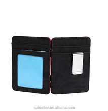 Multicolored Leather Mens Slim Magic Wallet slim men leather and Credit id Case cool wallet