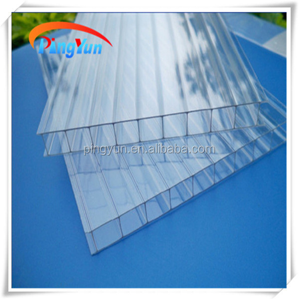 polycarbonate hollow sheet for carport canopy greenhouse