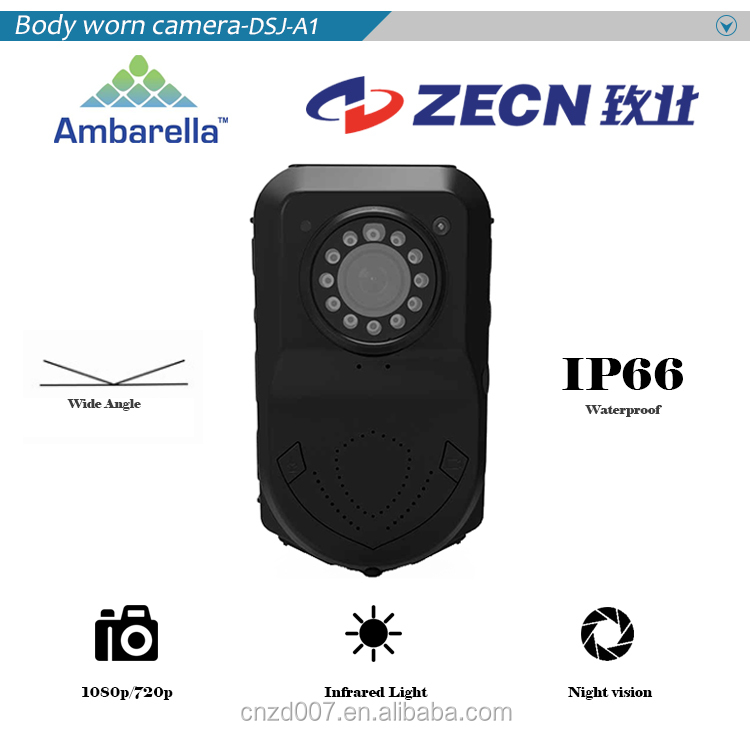 Professional police video camcorder
