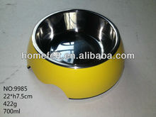 High quality new pet products for 2012 silicone foldable dog bowl