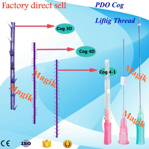 Body piercing needle pdo bust-boom breast enlargement