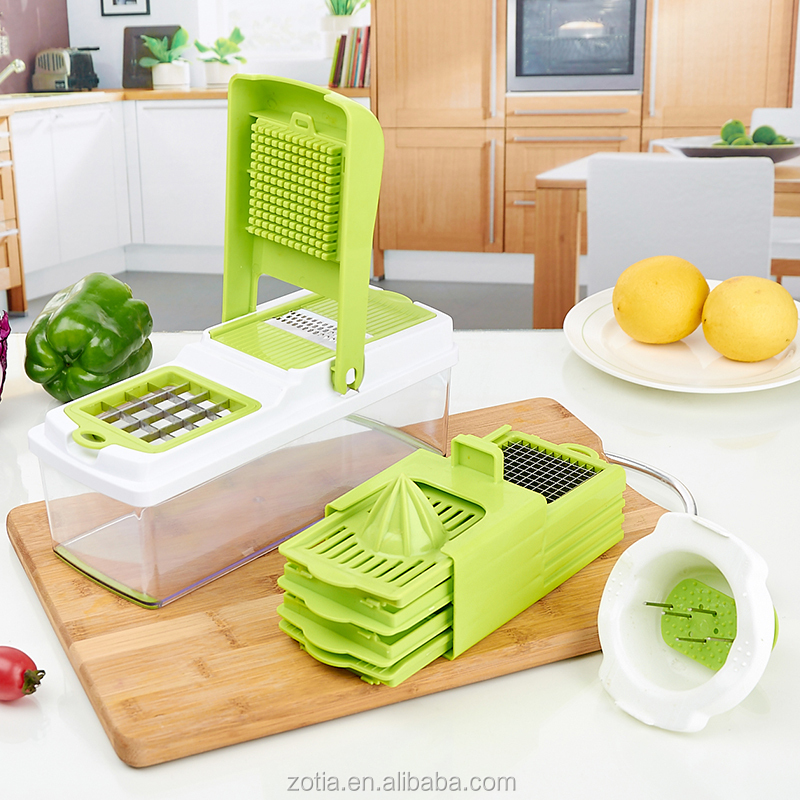 super slicer plus vegetable fruit peeler dicer cutter , Cutter Slicer Chopper & Container As Seen On TV