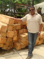 Sell Clean Square Teak Wood From Colombia