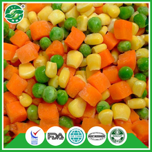 MY-TEXT iqf Frozen Mix vegetables pea corn carrot