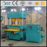 Electric 4 pillar hydraulic press 250 ton, cold and hot hydraulic press