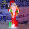 Latest chinese product led christmas santa claus figurines