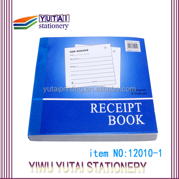 carbonless invoice sample rent receipt book customized