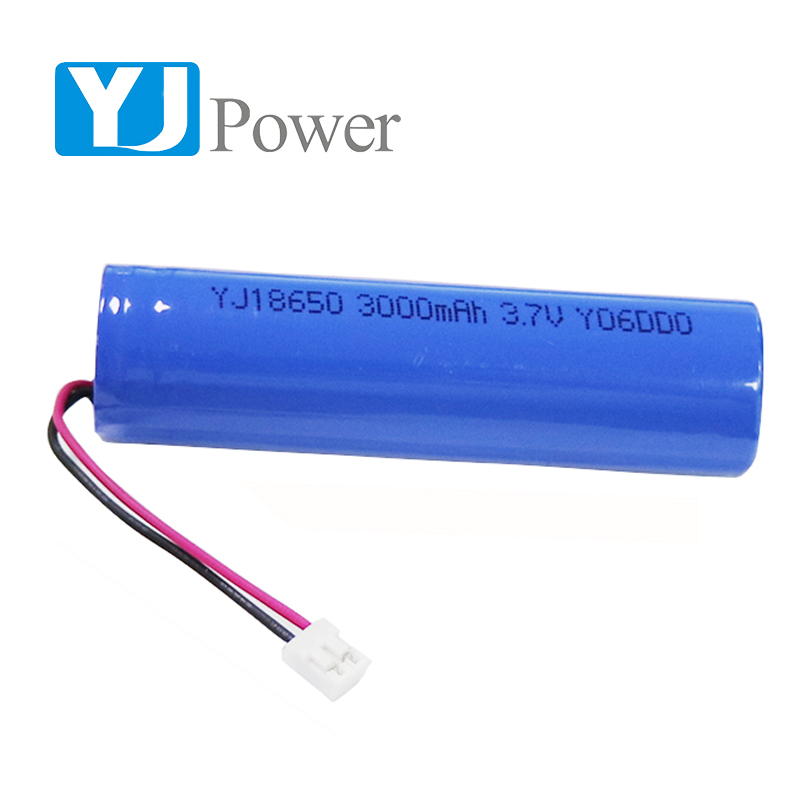 YJ power group LTD 18650 3000mAh cylindrical lithium battery 3.7V