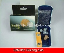 analog BTE hearing aid Pocket aid Sound amplifier body Battery hear aids CE and FDA approved