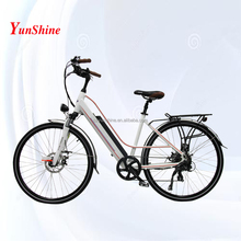 Country woman, battery in frame atv pedal electric bike ebike