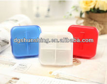 7 days portable plastic medical box,container,case