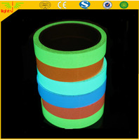 hi viz double color photoluminescent film / glow in thedark tape / luminescent film self-adhesive Vinyl