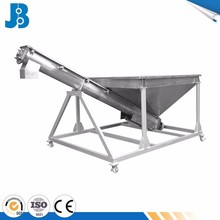 Stainless steel incline screw conveyor feeder system for rice/sugar/coffee powder