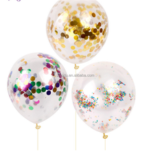 promotion gifts wedding balloon Magic foam balloon Colorful aluminum foil confetti balloons