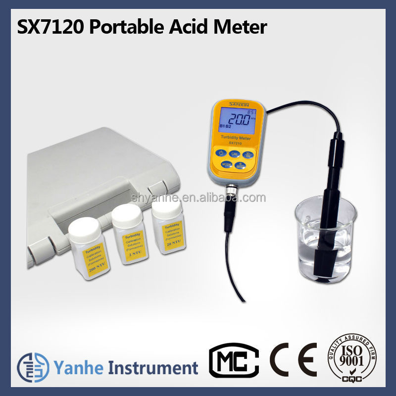 SX7120 Portable Alkali Meter Concentration Analyzer