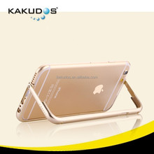 New Gild Design Brushed Aluminum full cover Standing Bumper Case for iphone 6