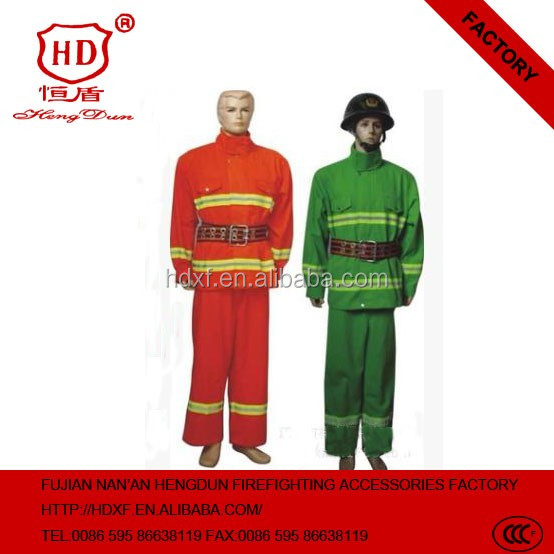 2016 Detachable Fireman safety reflective fire retaradnt boiler suit for mine protective suit clothing