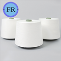 water soluble instantly spun white yarn  with cheap price