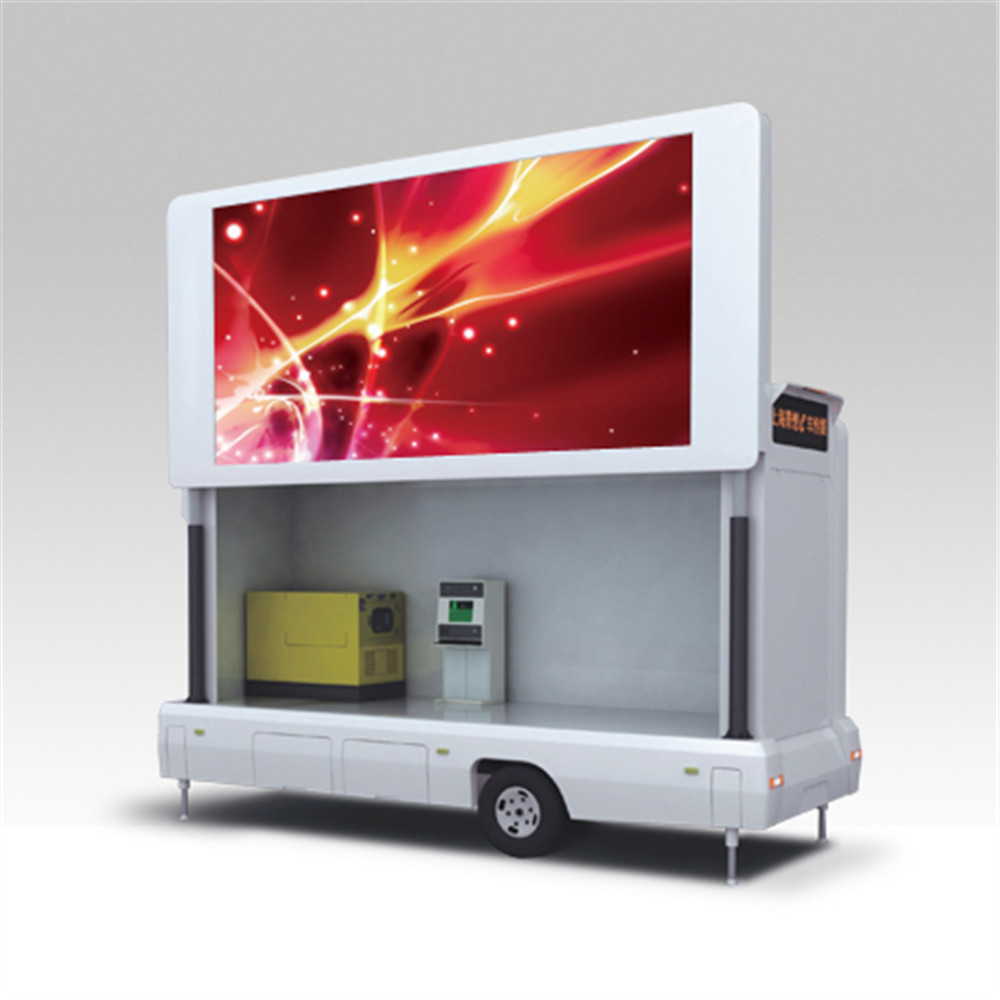 Double side advertising electronic truck mounted led display P6