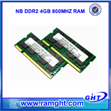 In stock 256mbx8 4gb ddr2 ram laptop