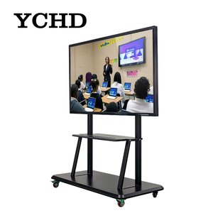 "kids 86"" infrared led writing drawing smart led board"