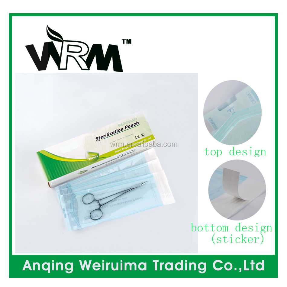 Self Sealing Sterilization Pouches Medical Expendables